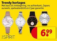 Trendy horloges-True Spirit