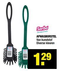 Afwasborstel-Sorbo