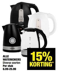 Alle waterkokers-Hollandia
