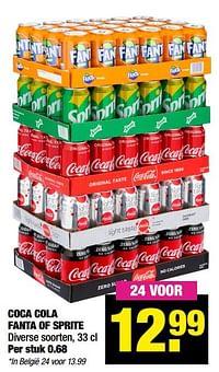 Coca cola fanta of sprite-Huismerk - Big Bazar