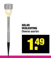 Solar verlichting-Huismerk - Big Bazar