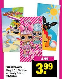 Strandlaken-Huismerk - Big Bazar