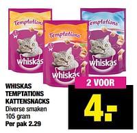 Whiskas temptations kattensnacks-Whiskas