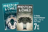 Preston & child-Huismerk - Cora
