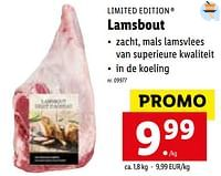 Lamsbout-Limited Edition
