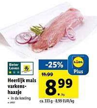 Heerlijk mals varkenshaasje-Huismerk - Lidl