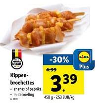 Kippenbrochettes-Huismerk - Lidl