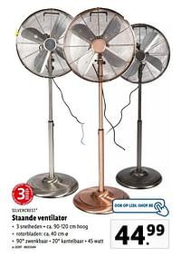 Silvercrest staande ventilator-SilverCrest