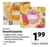 Smoothie ijssticks-Gelatelli