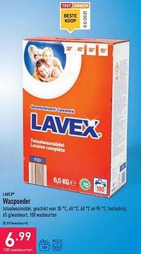 Waspoeder-lavex