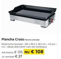 Plancha cross plancha colorado-Huismerk - Molecule