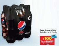 Pepsi regular of max-Pepsi