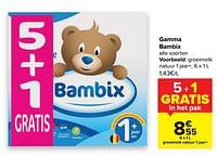 Bambix groeimelk natuur 1 jaar+-Bambix