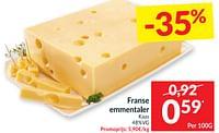 Franse emmentaler kaas-Huismerk - Intermarche