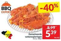 Gemarineerde varkensspieringen-Huismerk - Intermarche