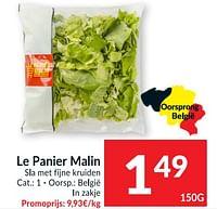 Le panier malin sla met fijne kruiden-Le Panier Malin
