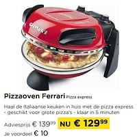 Pizzaoven ferrari pizza express-Ferrari