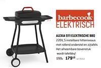 Barbecook alexia 5111 elektrische bbq-Barbecook