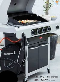 Barbecook gasbbq family siesta 412-Barbecook