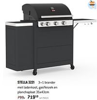 Barbecook gasbbq family stella 3221-Barbecook