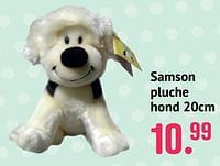 Samson pluche hond-Samson