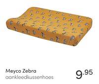 Meyco zebra aankleedkussenhoes-Meyco