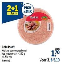 Gold meat kip kap-Gold Meat