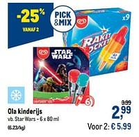 Ola kinderijs star wars-Ola