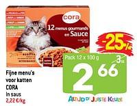 Fijne menu`s voor katten cora-Huismerk - Smatch