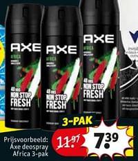 Axe deospray africa-Axe