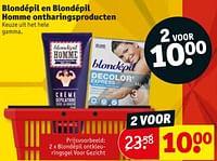 Blondépil ontkleuringsgel voor gezicht-Blondepil