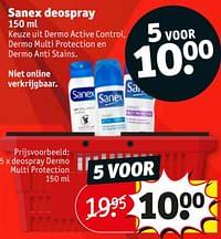 Deospray dermo multi protection-Sanex