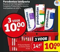 Parodontax tandpasta extra fresh-Parodontax