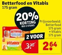 Betterfood + vitabis-Betterfood