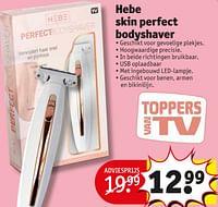 Hebe skin perfect bodyshaver-Hebe