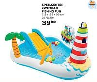 Speelcenter zwembad fishing fun-Intex