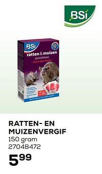 Bsi ratten- en muizenvergif-BSI