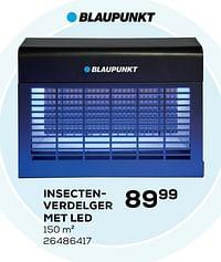 Blaupunkt insectenverdelger met led-Blaupunkt