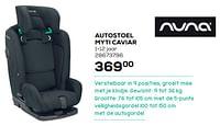 Autostoel myti caviar-Nuna
