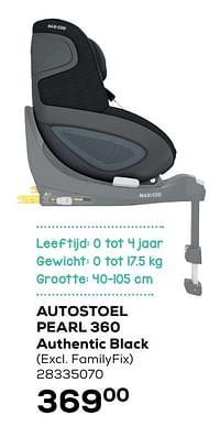 Autostoel pearl 360 authentic black-Maxi-cosi