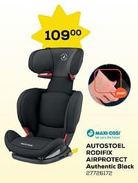 Autostoel rodifix airprotect authentic black-Maxi-cosi