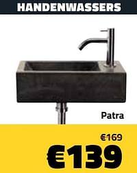Handenwassers patra-Huismerk - Bouwcenter Frans Vlaeminck