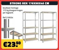 Strong rek-Huismerk - Bouwcenter Frans Vlaeminck