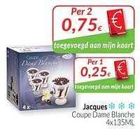 Jacques coupe dame blanche-Jacques