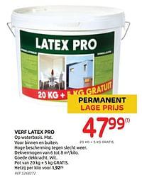 Verf latex pro-Huismerk - Brico