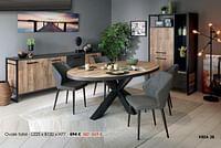 Ovale tafel-Huismerk - Krea - Colifac