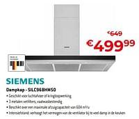 Siemens dampkap - silc96bhm50-Siemens