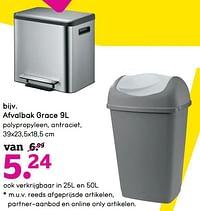 Afvalbak grace-Huismerk - Leen Bakker