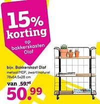 Bakkerskast olaf-Huismerk - Leen Bakker