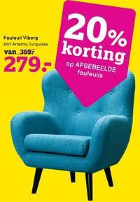 Fauteuil viborg-Huismerk - Leen Bakker